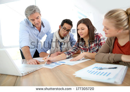 stock-photo-business-school-students-in-marketing-class-with-teacher-177305720
