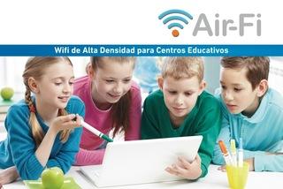 Wifi de Alta Densidad para Centros Educativos